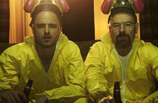 Breaking Bad Jesse en Walter