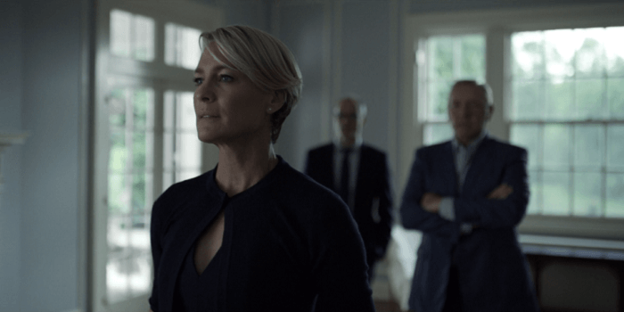 House of Cards Frank en Claire