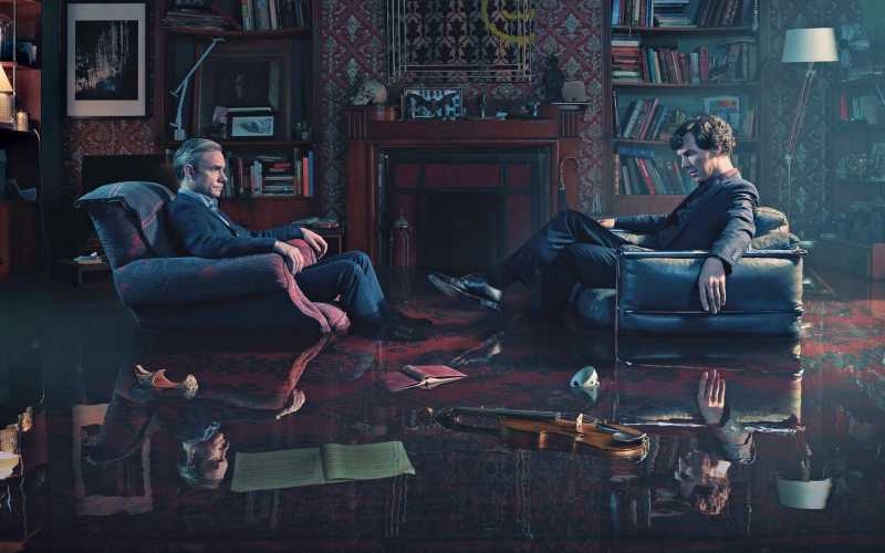 Series zoals Sherlock…